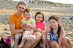 Enjoying the afternoon in Banna on Thursday, l to r: Mary, Sofia, Ava and Leah Duffin.