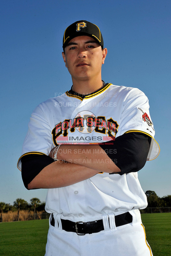 Feb 28, 2010; Bradenton, FL, USA; Pittsburgh Pirates  pitcher Anthony Claggett (78) during  photoday at Pirate City. Mandatory Credit: Tomasso De Rosa/ Four Seam Images