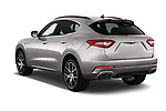 Car pictures of rear three quarter view of a 2017 Maserati Levante Base 5 Door SUV angular rear