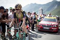 Laurens De Plus (BEL/Jumbo-Visma) up the Tourmalet (HC/2115m/19km @7.4%)<br /> <br /> Stage 14: Tarbes to Tourmalet(117km)<br /> 106th Tour de France 2019 (2.UWT)<br /> <br /> ©kramon