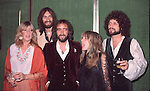 Fleetwood Mac 1978 Christine McVie, Mick Fleetwood, John Mcvie, Stevie Nicks, Lindsey Buckingham....