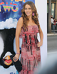 Sofia Vergara  at The Warber Bros. Pictures'  World Premiere of HAPPY FEET TWO held at The Grauman's Chinese Theatre in Hollywood, California on November 13,2011                                                                               © 2011 Hollywood Press Agency