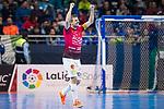Rios R. Zaragoza Carlos Retamar celebrating a goal during Semi-Finals Futsal Spanish Cup 2018 at Wizink Center in Madrid , Spain. March 17, 2018. (ALTERPHOTOS/Borja B.Hojas)