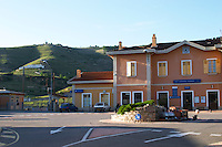 train station tain l hermitage rhone france