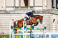 AUS-Sam Griffiths rides Curtera Cher during the Showjumping for the CCIO-S 4* (Teams). 2021 GBR-Saracen Horse Feeds Houghton International Horse Trials. Hougton Hall. Norfolk. England. Saturday 29 May 2021. Copyright Photo: Libby Law Photography
