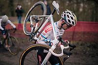 Eli Iserbyt (BEL/Pauwels Sauzen-Bingoal)<br /> <br /> Men's Race<br /> UCI Cyclocross World Cup Namur 2020 (BEL)<br /> <br /> ©kramon
