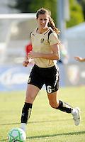 Brandi Chastain..Saint Louis Athletica tied 1-1 with F.C Gold Pride, at Anheuser-Busch Soccer Park, Fenton, Missouri.