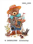 GIORDANO, CUTE ANIMALS, LUSTIGE TIERE, ANIMALITOS DIVERTIDOS, Teddies, paintings+++++,USGI1520,#AC# teddy bears