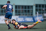 Penguin International vs Taikoo Place Scottish Exiles during their Cup Quarter-final as part of the GFI HKFC Rugby Tens 2017 on 06 April 2017 in Hong Kong Football Club, Hong Kong, China. Photo by Marcio Rodrigo Machado / Power Sport Images