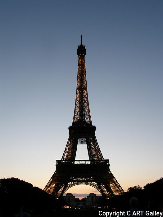 Eiffel Tower 3, Paris France