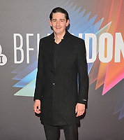 """James Harkness at the 65th BFI London Film Festival """"Spencer"""" Headline gala, Royal Festival Hall, Belvedere Road, on Thursday 07th October 2021, in London, England, UK. <br /> CAP/CAN<br /> ©CAN/Capital Pictures"""