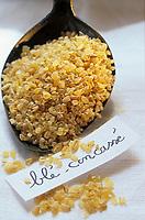"""Europe/France/Ile-de-France/Paris: Blé concassé - Ingrédient du couscous au restaurant """"La Mansouria"""""""