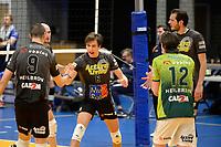 06-03-2021: Volleybal: Amysoft Lycurgus v Active Living Orion: Groningen blijdschap bi Orion