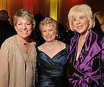 From left: Dr. Kelly Zuniga, Ginger Blanton and Dr. Mary Spangler at the Opportunity Ball benefitting Houston Community Collefe at the InterContinental Houston Friday Jan.  08,2010.(Dave Rossman/For the Chronicle)