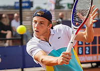 Amstelveen, Netherlands, 1 August 2020, NTC, National Tennis Center, National Tennis Championships, Men's Doubles final:  Tallon Griekspoor (NED)<br /> Photo: Henk Koster/tennisimages.com