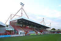 General view of the ground during Crawley Town vs Leyton Orient, Papa John's Trophy Football at The People's Pension Stadium on 5th October 2021
