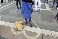 - Milano, maggio 2020, manifestazione lavoratori dello spettacolo contro la crisi dovuta all'epidemia di Coronavirus e la mancanza di aiuti economici da parte dello Stato.<br /> <br /> - Milan, May 2020, show business workers demonstration against the crisis caused by the Coronavirus epidemic and the lack of economic aid from the State