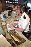 Control room centre for the emergency services. This image may only be used to portray the subject in a positive manner..©shoutpictures.com..john@shoutpictures.com