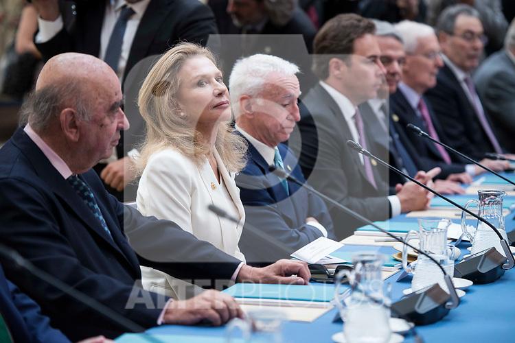 Alicia Koplowitz attends the meeting of the members of the patronage of the Princesa de Asturias foundation at El Pardo Palace in Madrid, June 16, 2017. Spain.<br /> (ALTERPHOTOS/BorjaB.Hojas)