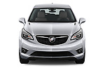 Car photography straight front view of a 2020 Buick Envision Preferred FWD 5 Door SUV