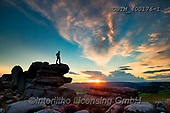 Tom Mackie, LANDSCAPES, LANDSCHAFTEN, PAISAJES, photos,+Britain, British, Derbyshire, England, English, Europe, European, Great Britain, Peak District National Park, Surprise View,+Tom Mackie, UK, blue, cirrus, cloud, clouds, cloudscape, dramatic outdoors, horizontal, horizontals, lone, man, national park+rocky, rugged, scenic, single person, sunburst, sunrise, sunrises, sunset, sunsets, time of day, tor, weather, weather & tim+e of day,Britain, British, Derbyshire, England, English, Europe, European, Great Britain, Peak District National Park, Surpr+,GBTM400176-1,#l#, EVERYDAY