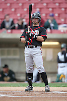 April 29, 2009: Bryan Kervin (4) of the Lansing Lugnuts at Elfstrom Stadium in Geneva, IL.  Photo by: Chris Proctor/Four Seam Images