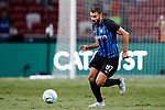 FC Internazionale Midfielder Antonio Candreva in action during the International Champions Cup match between FC Bayern and FC Internazionale at National Stadium on July 27, 2017 in Singapore. Photo by Marcio Rodrigo Machado / Power Sport Images