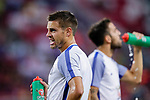 Chelsea Defender Cesar Azpilicueta Warming up during the International Champions Cup 2017 match between FC Internazionale and Chelsea FC on July 29, 2017 in Singapore. Photo by Marcio Rodrigo Machado / Power Sport Images