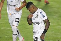 Santos (SP), 05.06.2021 - Santos-Ceará - O jogador marinho se lamenta. Partida entre Santos e Ceará valida pela 2. rodada do Campeonato Brasileiro neste domingo (5) no estadio da Vila Belmiro em Santos.