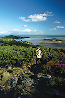 The Solway Firth, Rough Island, Castle Point and Rockcliffe from The Muckle (Mark Hill), Dumfries and Galloway<br /> <br /> Copyright www.scottishhorizons.co.uk/Keith Fergus 2011 All Rights Reserved