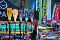 Kayak Paddles, Lake Sammamish State Park, Issaquah, Washington State, WA, America, USA.