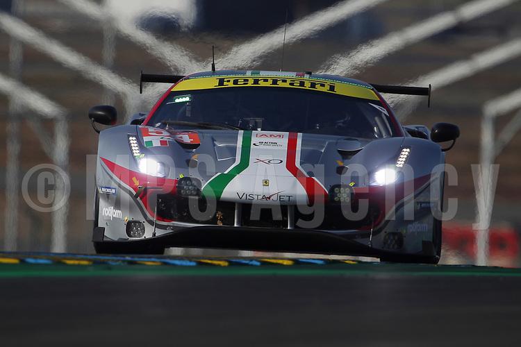 #54 AF CORSE (ITA) FERRARI 488 GTE EVO LM GTE AM  THOMAS FLOHR (CHE) FRANCESCO CASTELLACCI (ITA) GIANCARLO FISICHELLA (ITA)