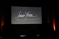SOIREE EN L'HONNEUR DE JEANNE MOREAU AU THEATRE DE L'ODEON A PARIS, FRANCE, LE 04/12/2017.