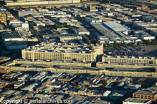 aerial photograph Los Angeles, California