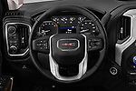 Car pictures of steering wheel view of a 2019 GMC Sierra-1500 Elevation 4 Door Pickup Steering Wheel