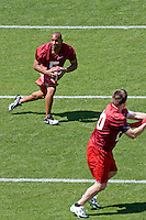12 April 2007: Former players return to Stanford to play in the Alumni game at Stanford Stadium in Stanford, CA. Pictured is Troy Walters.