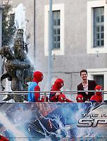 """20140414 ROMA-SPETTACOLI: ANTEPRIMA DI """"THE AMAZING SPIDER-MAN 2 - IL POTERE DI ELECTRO"""""""