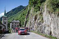 nuratlised race start = easy stroll in the Savoie Mont Blanc region<br /> <br /> 73rd Critérium du Dauphiné 2021 (2.UWT)<br /> Stage 8 (Final) from La Léchère-Les-Bains to Les Gets (147km)<br /> <br /> ©kramon