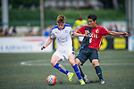 Kashima Antlers vs Leicester City during the Main tournament of the HKFC Citi Soccer Sevens on 22 May 2016 in the Hong Kong Footbal Club, Hong Kong, China. Photo by Lim Weixiang / Power Sport Images