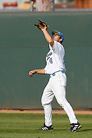 Tim Murphy of the UCLA Bruins during a game against the East Carolina Pirates at Jackie Robinson Stadium on February 17, 2007 in Los Angeles, California. (Larry Goren/Four Seam Images)