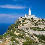 Spain, Balearic Islands, Mallorca, Lighthouse at Cap de Formentor | Spanien, Balearen, Mallorca, Leuchtturm am Cap Formentor