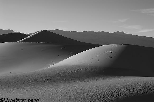 Dunes in Shadow, Death Valley National Park