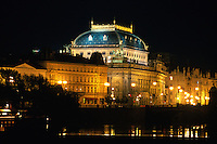 Tschechien, Prag, National--Theater Narodni Divadlo; Unesco-Weltkulturerbe.