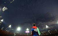 Fabrizio Donato bronzo nel salto triplo..Atletica, Giochi Olimpici, Londra 2012.09/08/2012 Londra.Foto Insidefoto / Imago / Xinhua/Liao Yujie