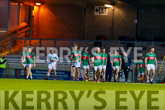 Mid Kerry team during the Kerry County Senior Football Championship Final match between East Kerry and Mid Kerry at Austin Stack Park in Tralee on Saturday night.
