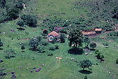 Minas Gerais State, Brazil. Typical small farm (sitio).