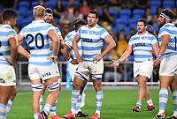 2nd October 2021, Cbus Super Stadium, Gold Coast, Queensland, Australia;  Argentina lock Guido Petti. Australian Wallabies versus Argentina Pumas. Rugby Championship test match. Rugby Union. Gold Coast, Australia.