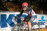 Caleb Ewan (AUS) Lotto-Soudal dropped on the first ascent of the Kemmelberg during the 82nd edition of Gent-Wevelgem 2020 running 232km from Ypres to Wevelgem, Belgium. 11th October 2020.  <br /> Picture: Colin Flockton   Cyclefile<br /> <br /> All photos usage must carry mandatory copyright credit (© Cyclefile   Colin Flockton)