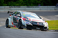 Race of Germany Nürburgring Nordschleife 2016 Free Training 1 WTCC 2016 #5 TC1 Honda Racing Team JAS. Honda Civic WTCC Norbert Michelisz (HUN) © 2016 Musson/PSP. All Rights Reserved.