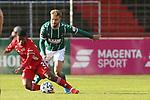 22.11.2020, Dietmar-Scholze-Stadion an der Lohmuehle, Luebeck, GER, 3. Liga, VfB Luebeck vs FC Bayern Muenchen II <br /> <br /> im Bild / picture shows <br /> Remy Vita (FC Bayern Muenchen II) im Zweikampf gegen Yannick Deichmann (VfB Luebeck) <br /> <br /> DFB REGULATIONS PROHIBIT ANY USE OF PHOTOGRAPHS AS IMAGE SEQUENCES AND/OR QUASI-VIDEO.<br /> <br /> Foto © nordphoto / Tauchnitz